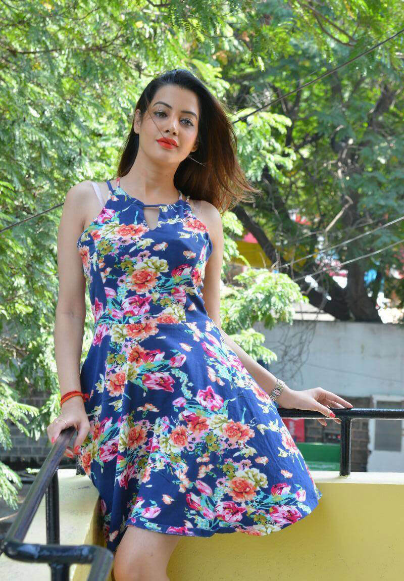 Diksha Panth at Chal Chal Gurram Release Press Meet Photos