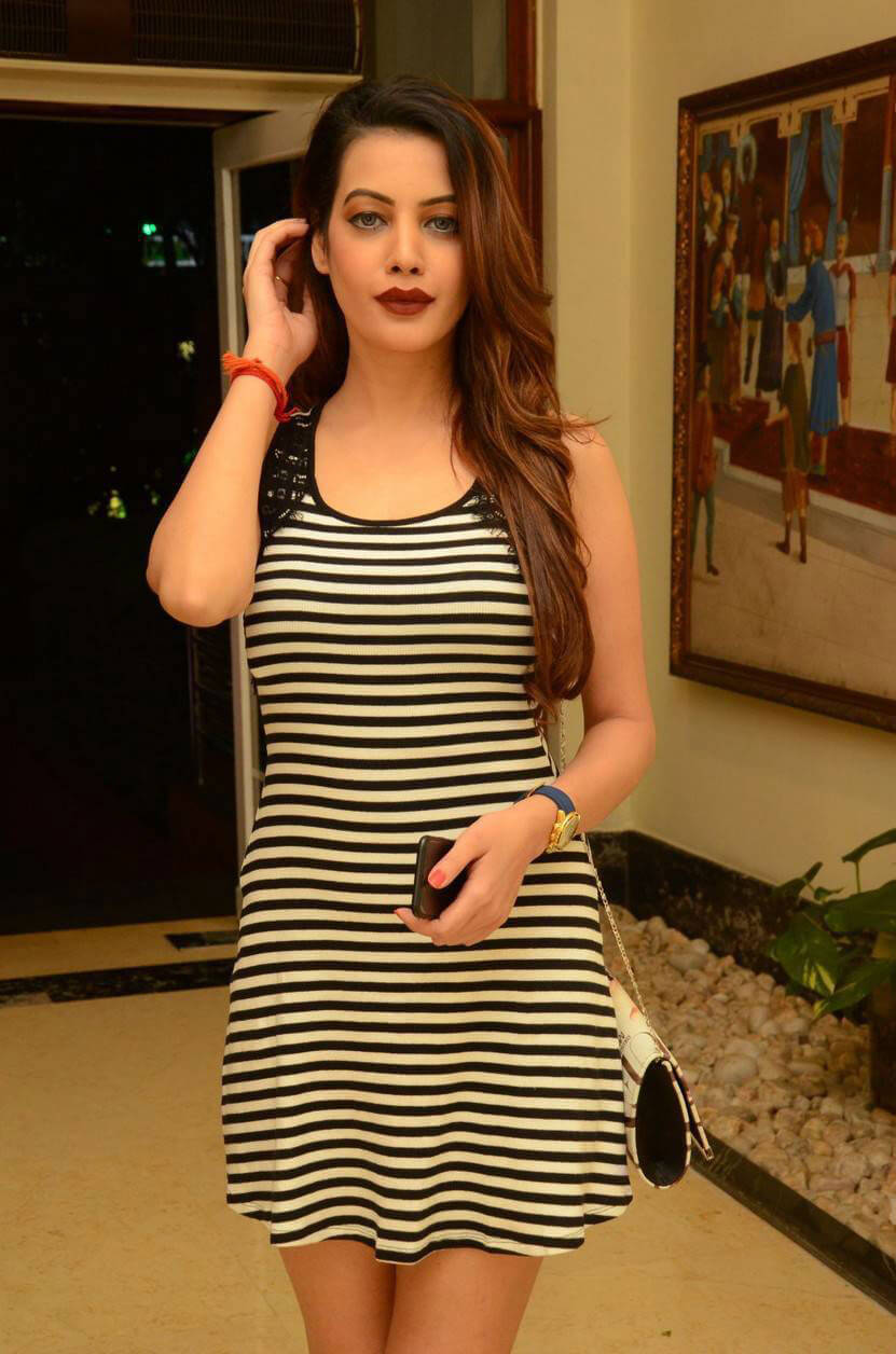 Diksha Panth Images at Telangana Premier League 2016 Launch