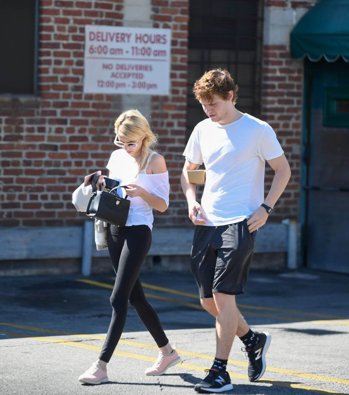 Emma Roberts Stills Out for Lunch at Musso and Frank in Hollywood