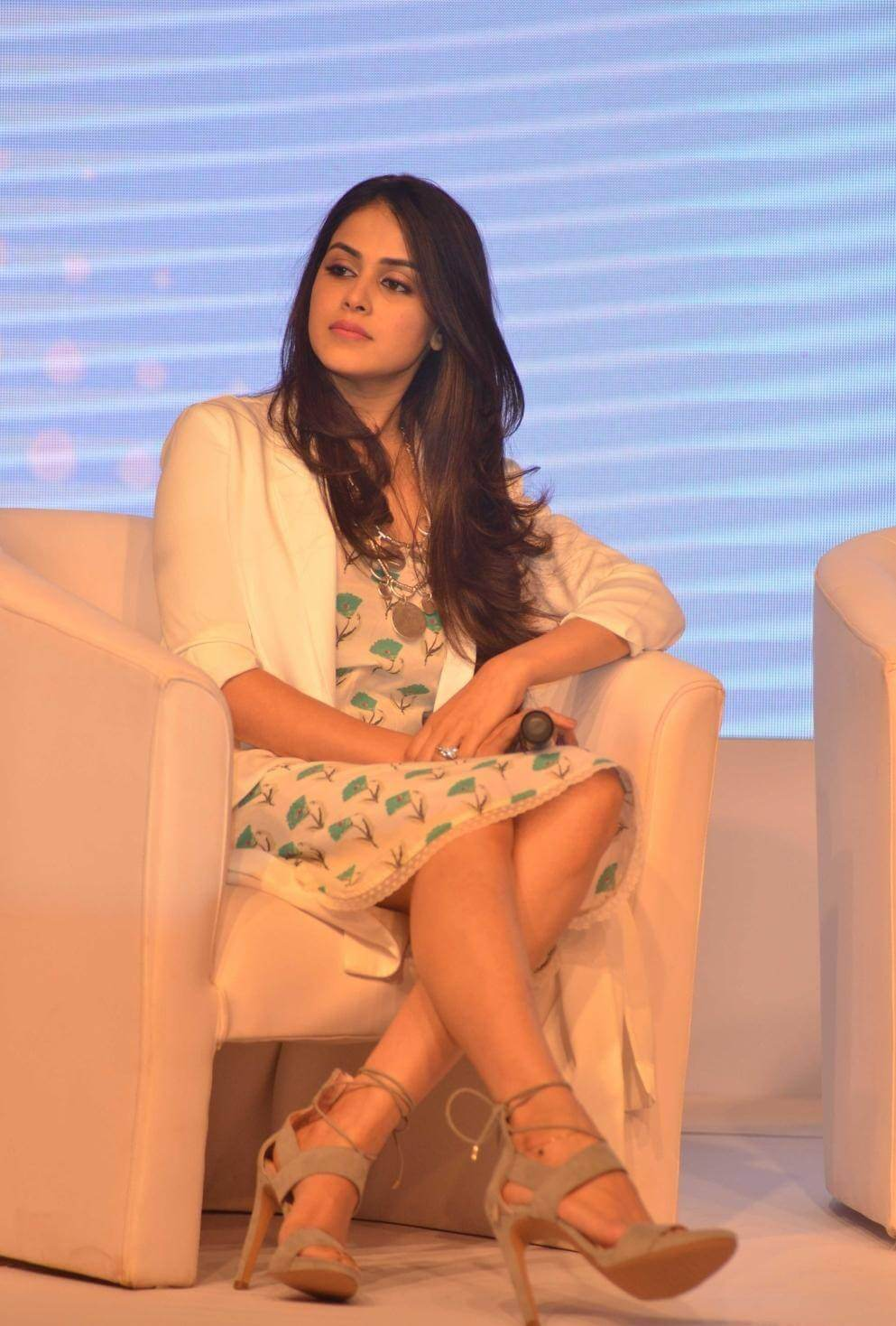 Genelia D'Souza launches Baby Dove Soap Launch Photos