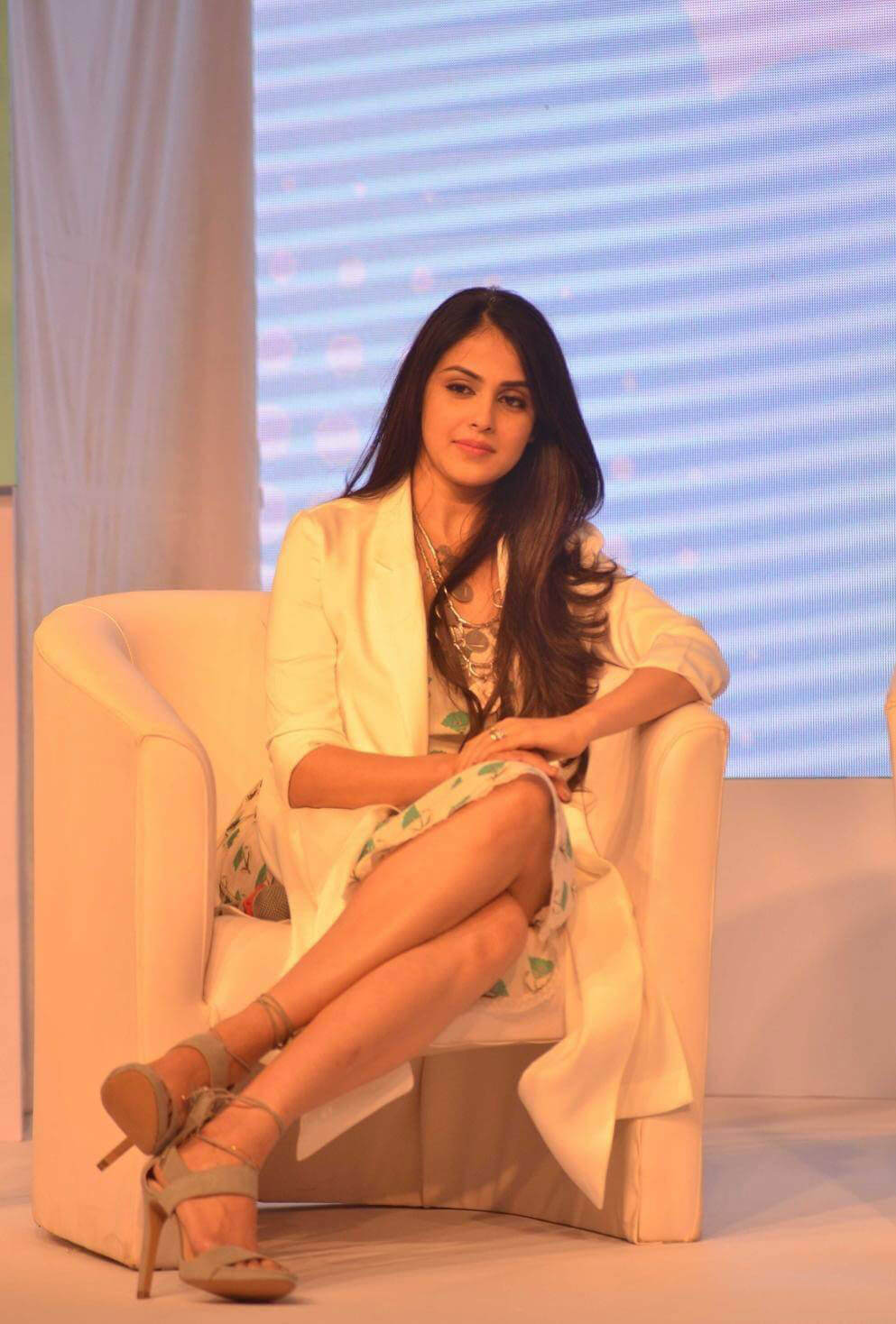 Genelia D'Souza Stills At Baby Dove Soap Launch