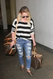Hilary Duff Stills at LAX Airport in Los Angeles