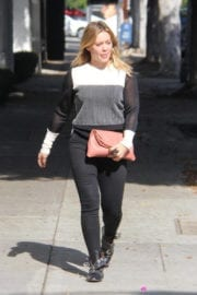 Hilary Duff Stills Out Shopping in Beverly Hills
