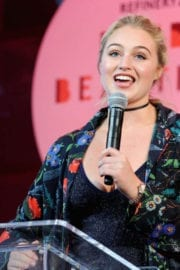 Iskra Lawrence Stills at Refinery29's Every Beautiful Body Symposium in New York