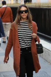 Jessica Alba Stills Out and About in New York