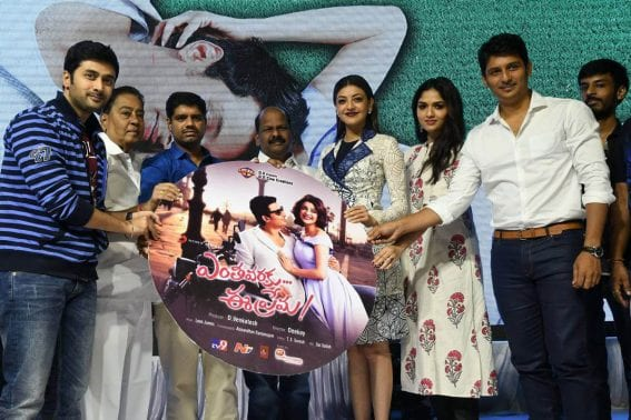 Jiiva and Kajal Entha Varaku Ee Prema Movie Audio Launch Stills