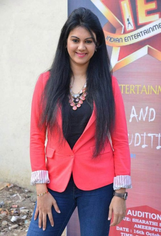 Kamna Jethmalani at Indian Entertainment League Press Meet