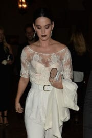 Katy Perry Stills at Vogue Fashion Fund Fashion Show in Los Angeles