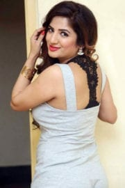 Kavya Photoshoot in White Top Images