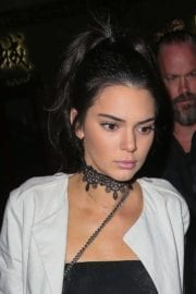 Kendall Jenner Stills Night Out in Paris