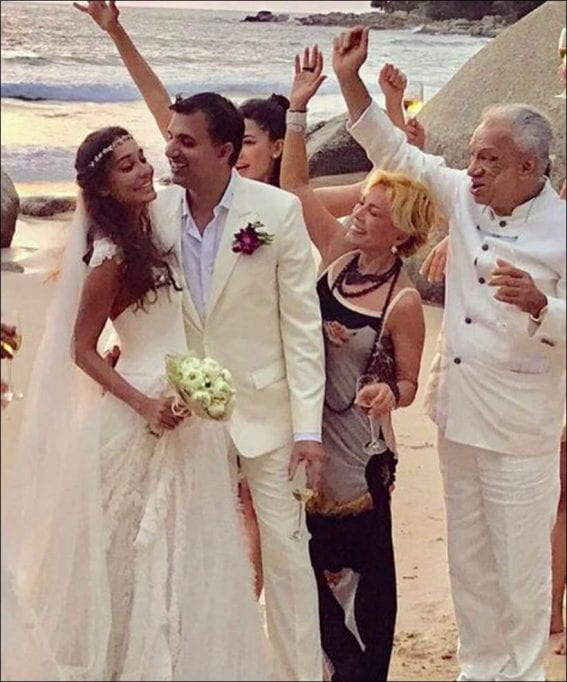 Lisa Haydon and Dino Lalvani are 'Just Married'
