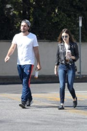 Lucy Hale Leaves a Starbucks in Los Angeles Photos