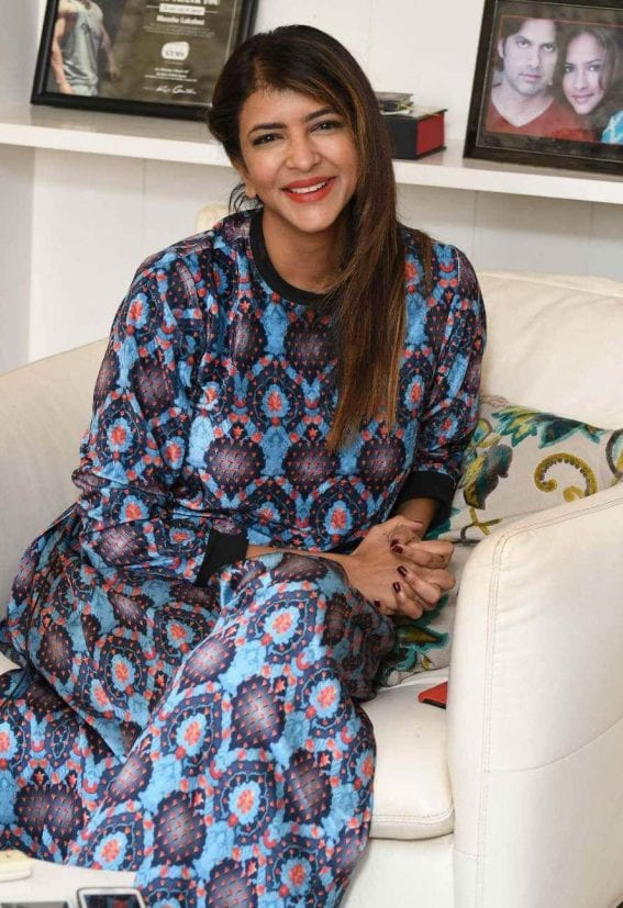 Manchu Lakshmi at Lakshmi Bomb Movie Interview Photos
