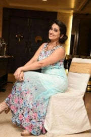 Manjusha at Remo Movie First Look Launch Photos