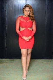 Nikesha Patel Hot Images in Red Dress