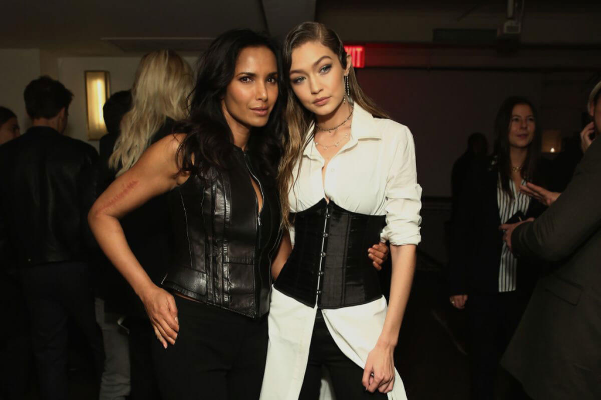 Padma Lakshmi at Stuart Weitzman's Launch of The Gigi Boot in New York