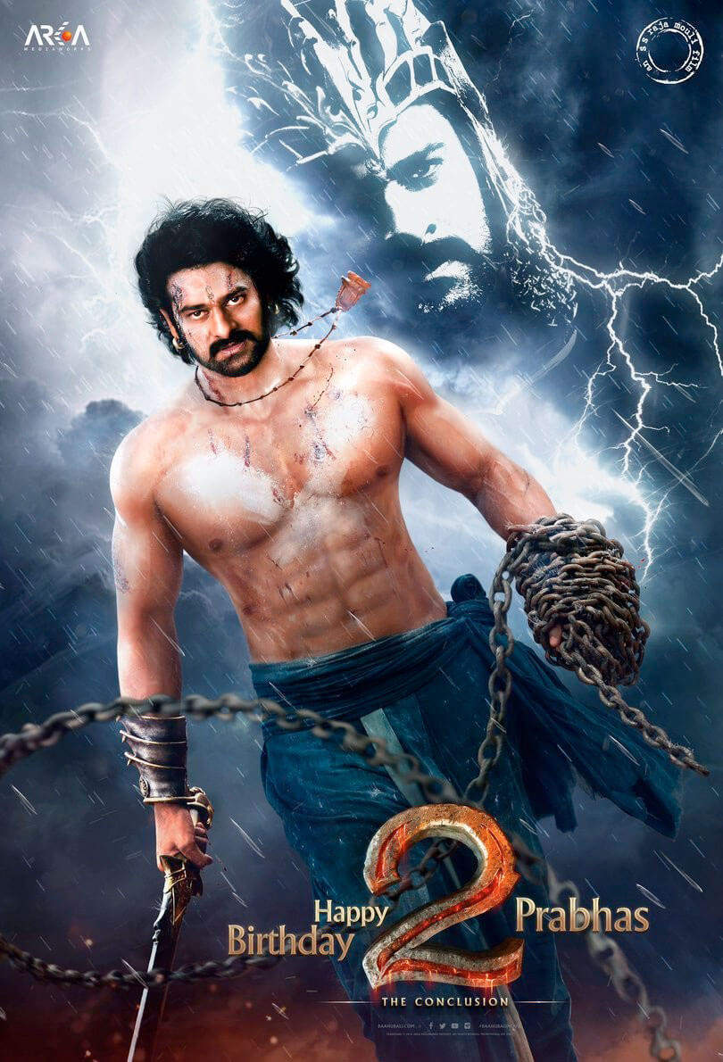 Prabhas Baahubali 2 First Look Poster