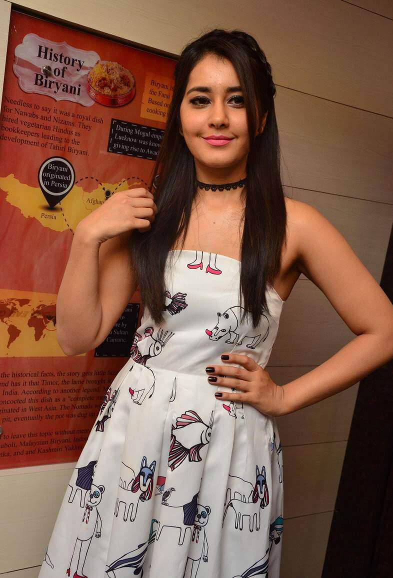 Raashi Khanna at Biryanis Restaurant Launch Images