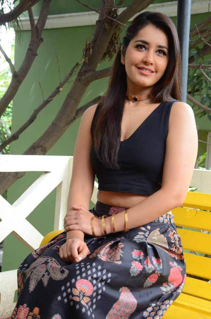 Raashi Khanna Hot at Hyper Movie Interview Photos