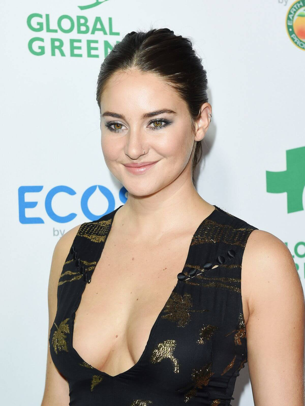 Shailene Woodley Stills at Global Green 20th Anniversary Awards in Los Angeles