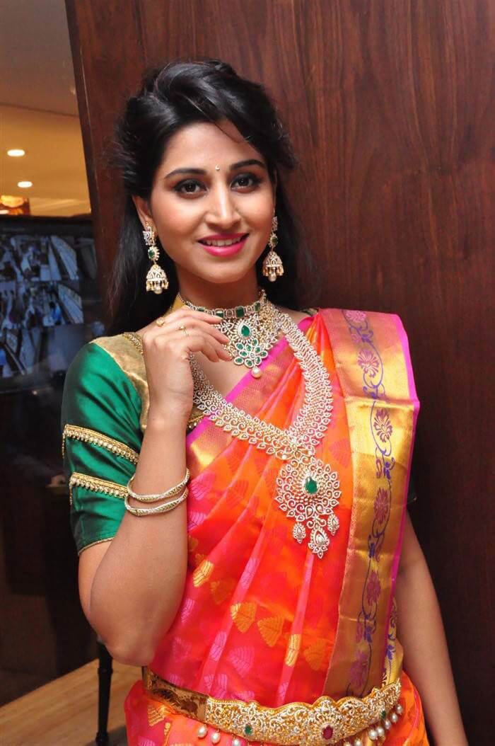 Shamili at Manepally Jewellers Concept Theme Wedding Collection