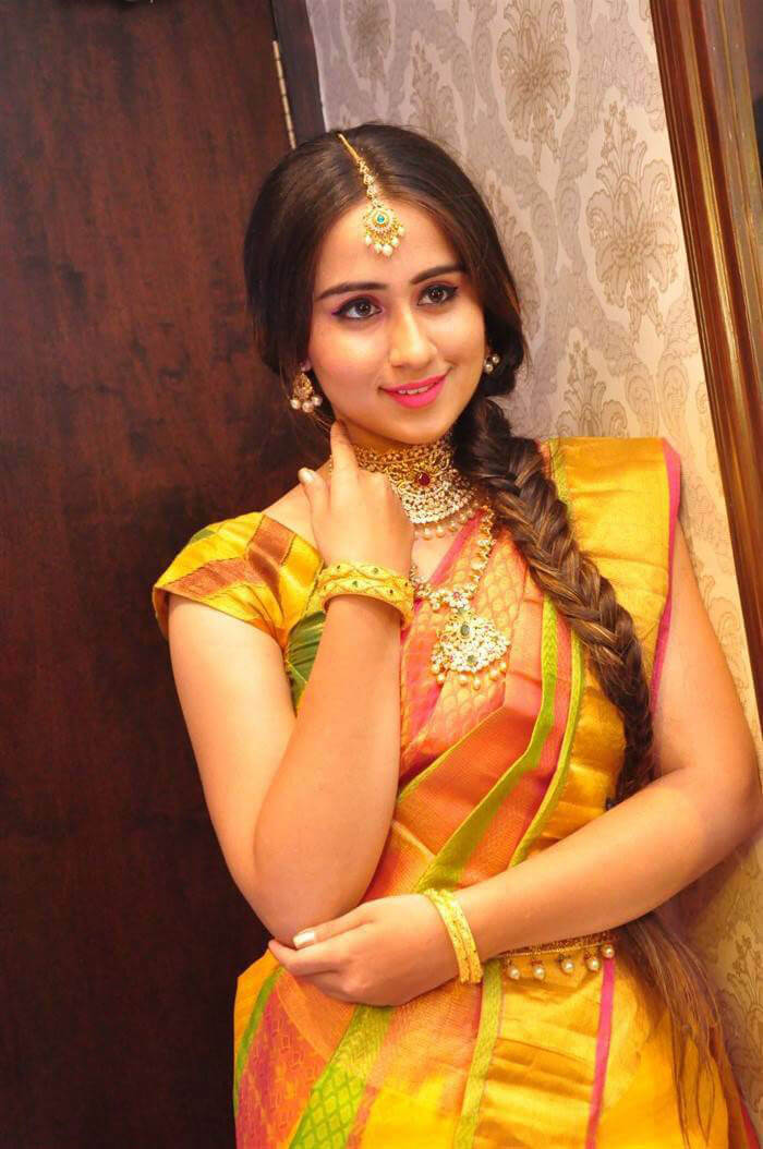 Simrath Juneja at Manepally Jewellers Concept Theme Wedding Collection