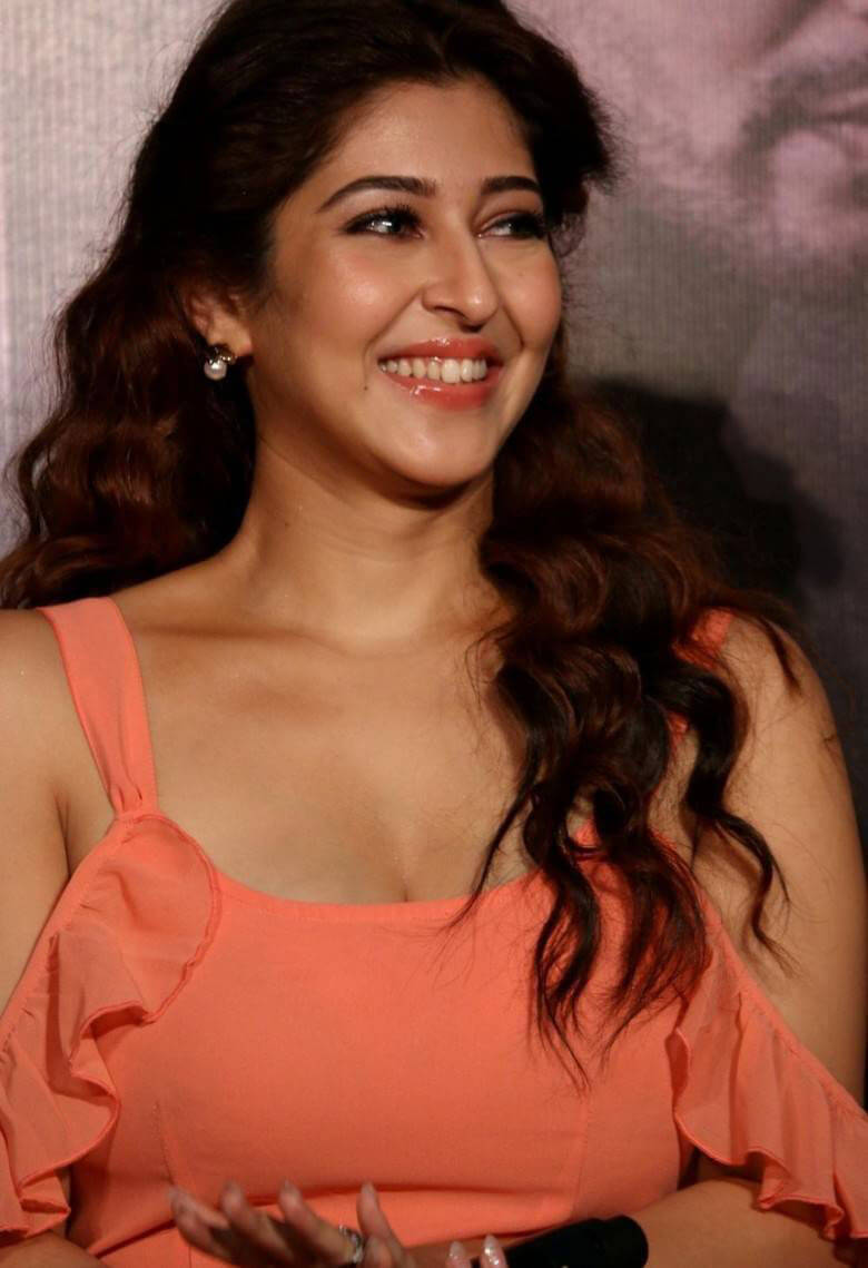 Sonarika Bhadoria at Saansein Movie Trailer Launch Images
