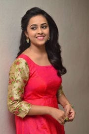 Sri Divya at Kashmora Movie Release Press Meet Photos