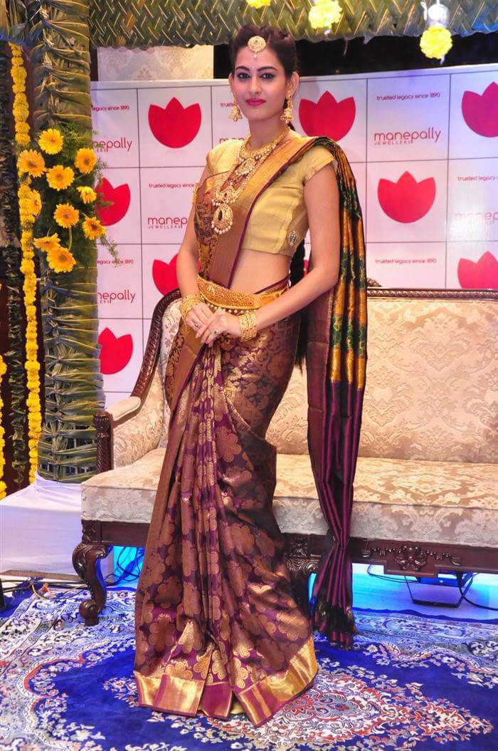 Swetha Jadhav at Manepally Jewellers Concept Theme Collection