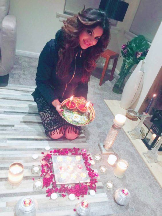 Urvashi Rautela's Diwali Celebration Photos