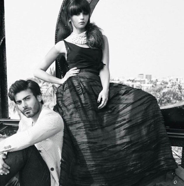 Alia Bhatt & Fawad Khan Photoshoot for Filmfare Magazine, March 2016