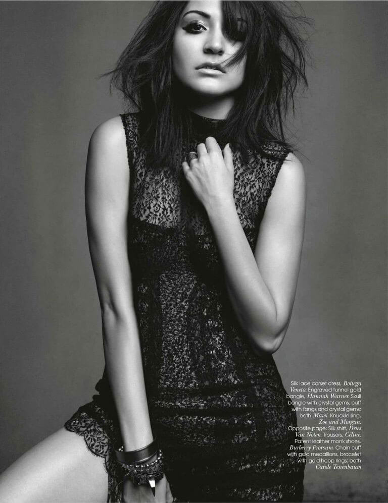 Anushka Sharma Photoshoot for Vogue Magazine, Feb 2012