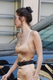 Bella Hadid Street Style Stills Images at Shopping in Los Angeles