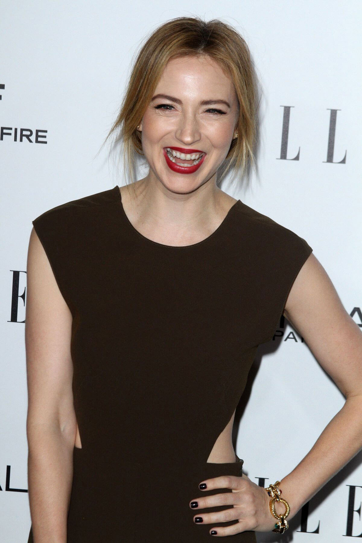 Beth Riesgraf Stills Images at 23rd Annual Elle Women in