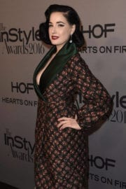 Dita Von Teese Stills Images at 2nd Annual Instyle Awards in Los Angeles