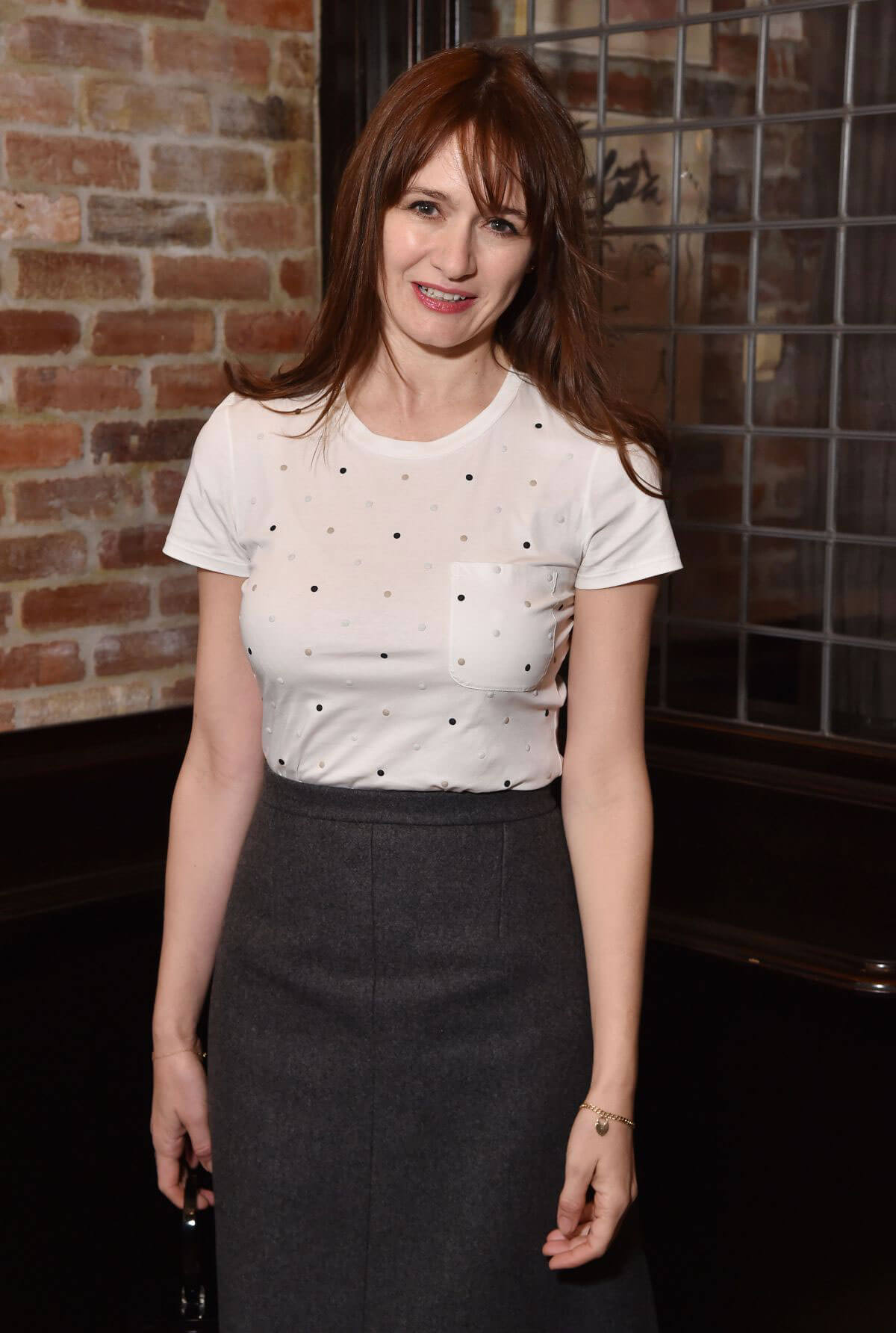Emily Mortimer Stills at Tribeca Chanel Women's Filmmaker Program Luncheon