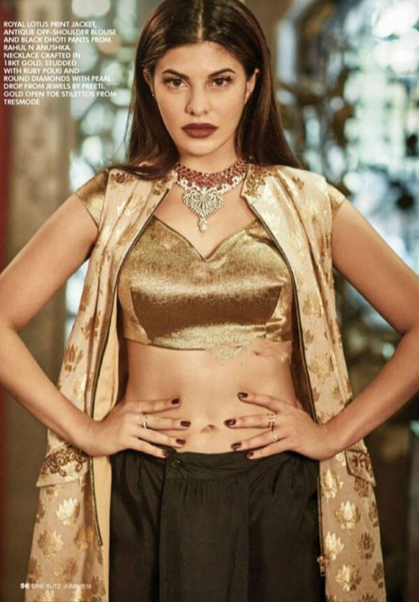 Jacqueline Fernandez Photoshoot for Cine blitz Magazine, June 2016