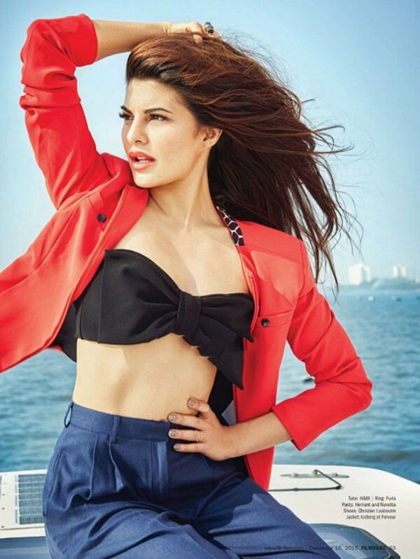 Jacqueline Fernandez Photoshoot for Filmfare Magazine, December 2015