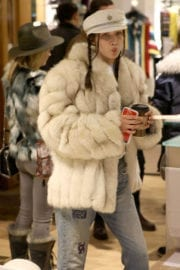 Bella Hadid Stills Out Shopping in Aspen