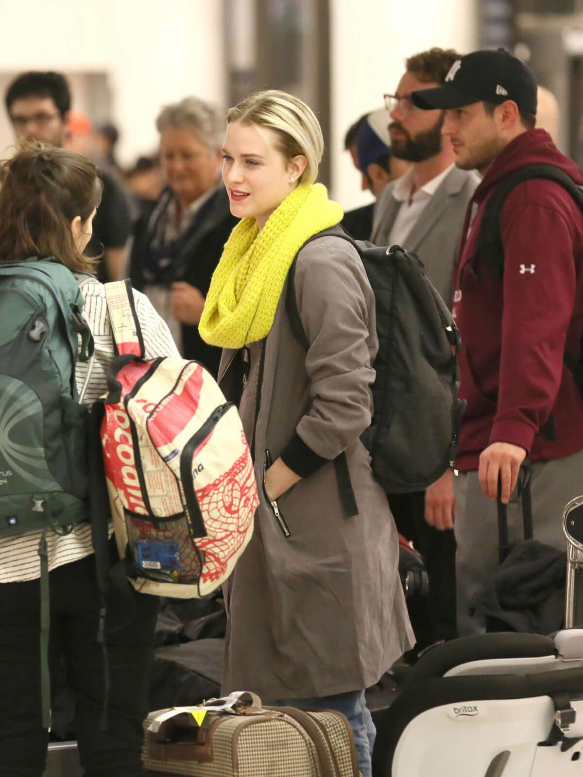 Evan Rachel Wood Stills at Los Angeles International Airport