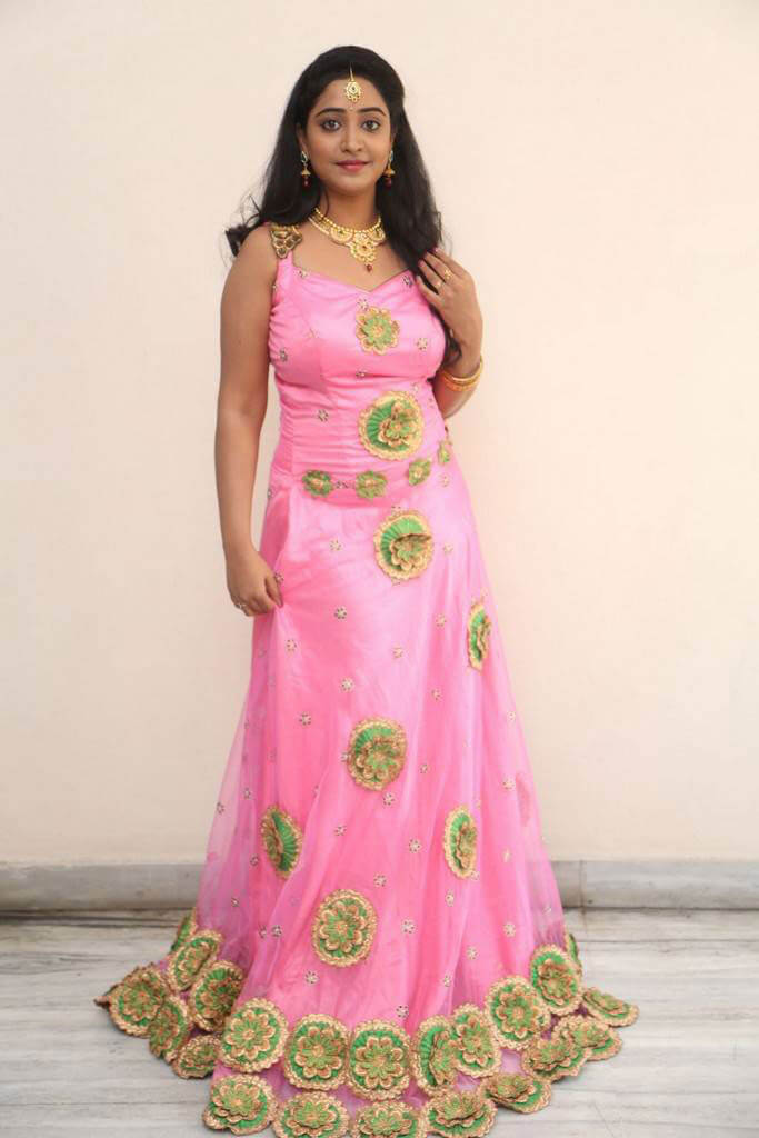Aishwarya Addala at Nethra Movie Audio Launch