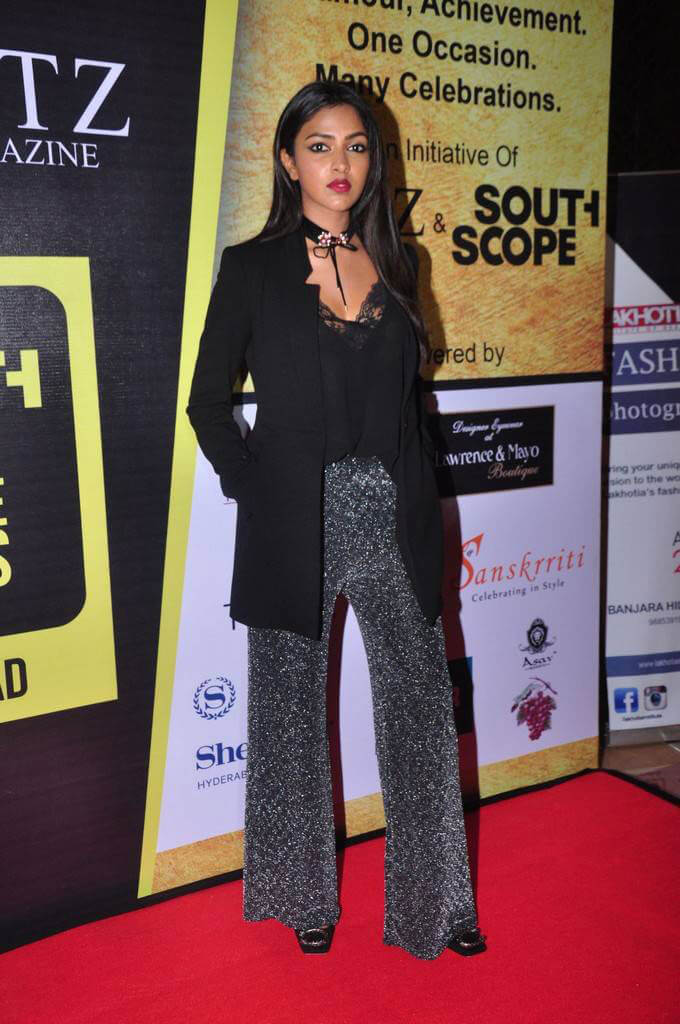 Amala Paul at South Scope Lifestyle Awards 2016 Red Carpet