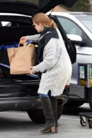 Amy Adams Stills at Grocery Shopping in Los Angeles