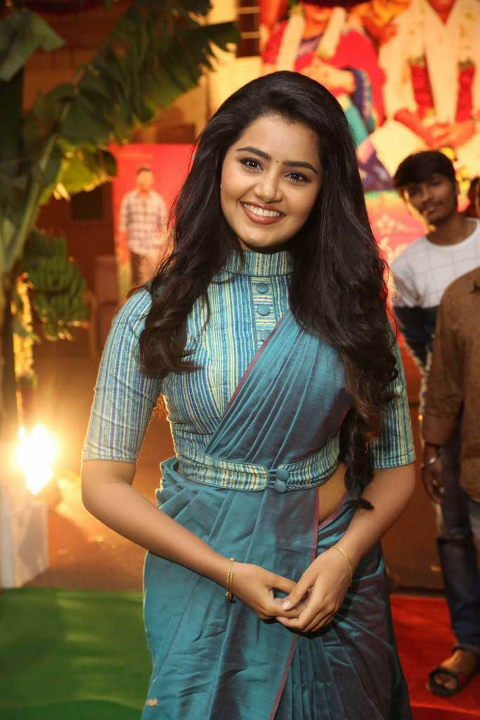 Anupama at Shatamanam Bhavathi Movie Audio Launch