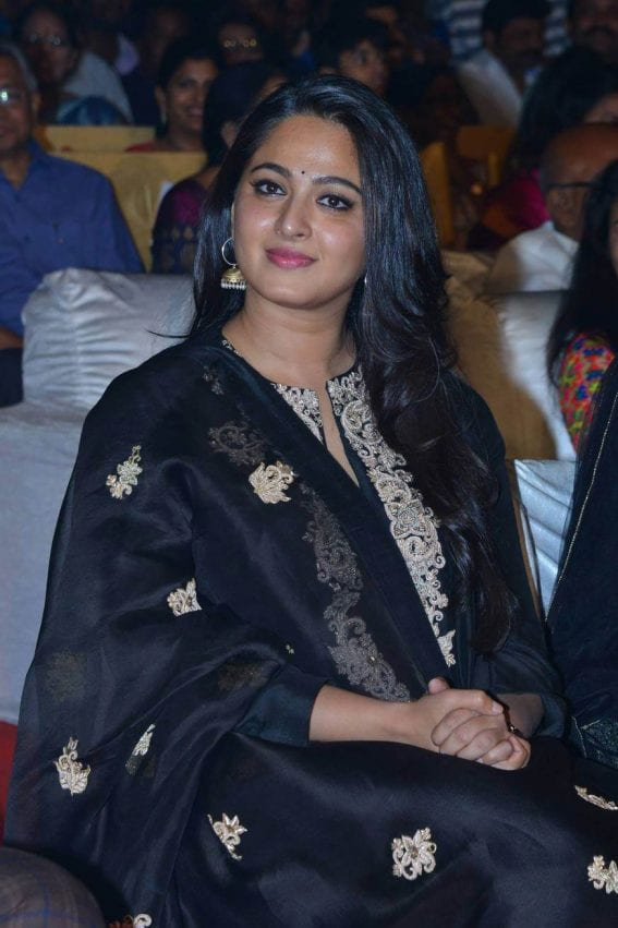 Anushka at Om Namo Venkatesaya Movie Audio Launch