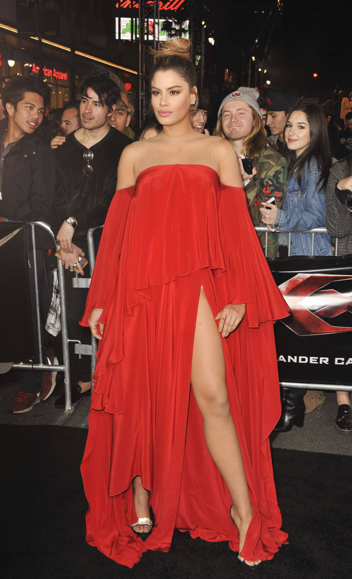 Ariadna Gutierrez at 'XXX: The Return of Xander Cage' Premiere in Hollywood