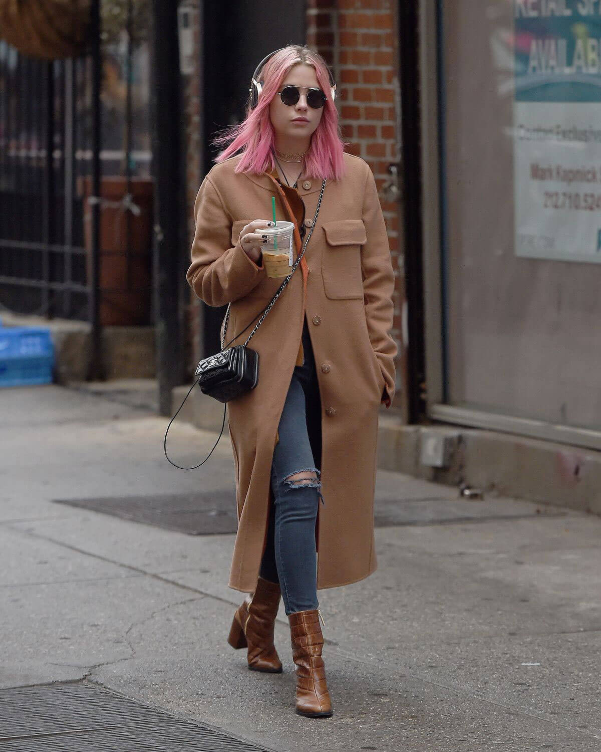 Ashley Benson Shopping Out and About in New York Photos