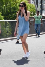 Ashley Greene Stills at Taronga Zoo and Manly Beach in Sydney Images