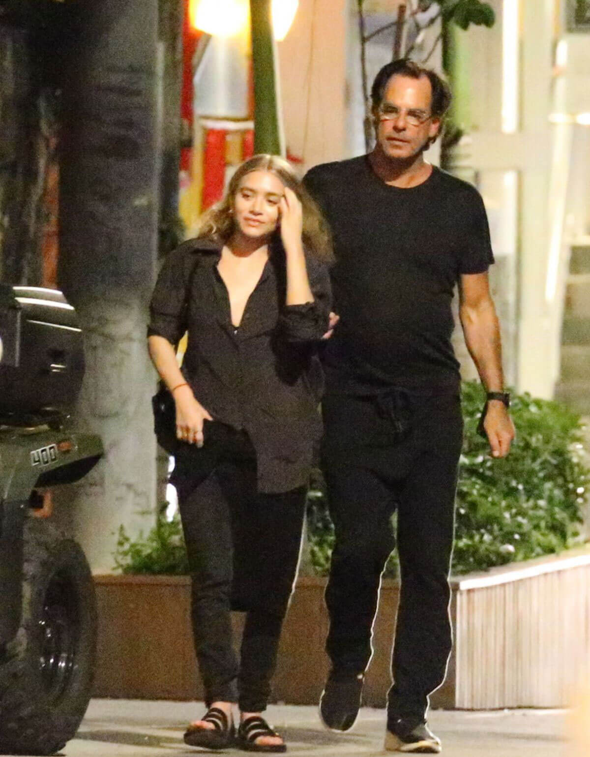 Ashley Olsen and Richard Sachs on Vacation in St. Barth Photos