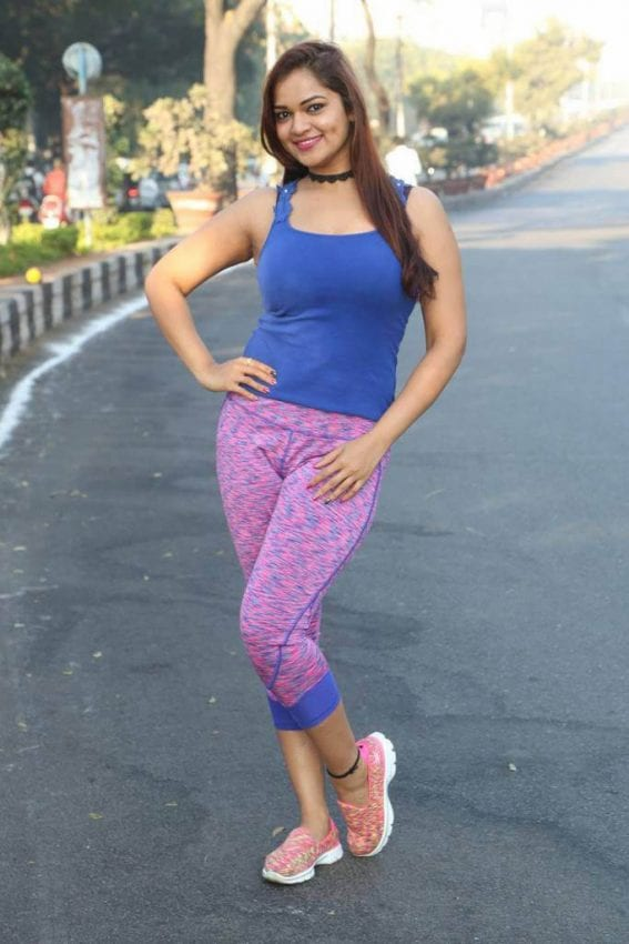 Ashwini at 10k Run 2016 Event